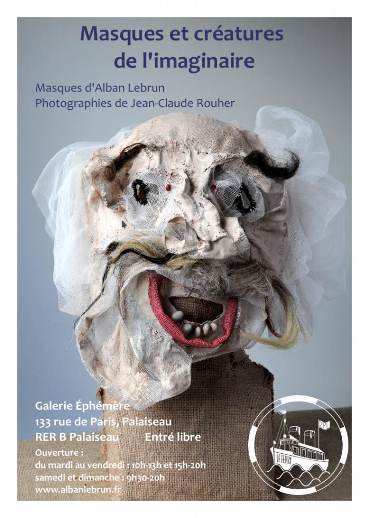 Masques et Créatures de l'Imaginaire (Affiche)